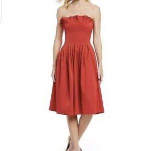 Antonio Melani Alicia Strapless Ruffle Dress